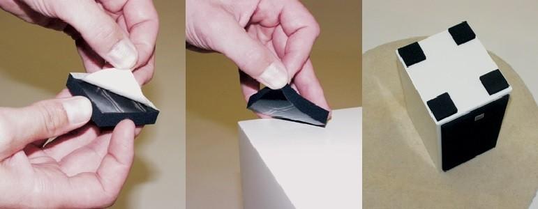 Applying of VT Feet